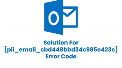 Photo of Best Way To Fix [pii_email_cbd448bbd34c985e423c] Error