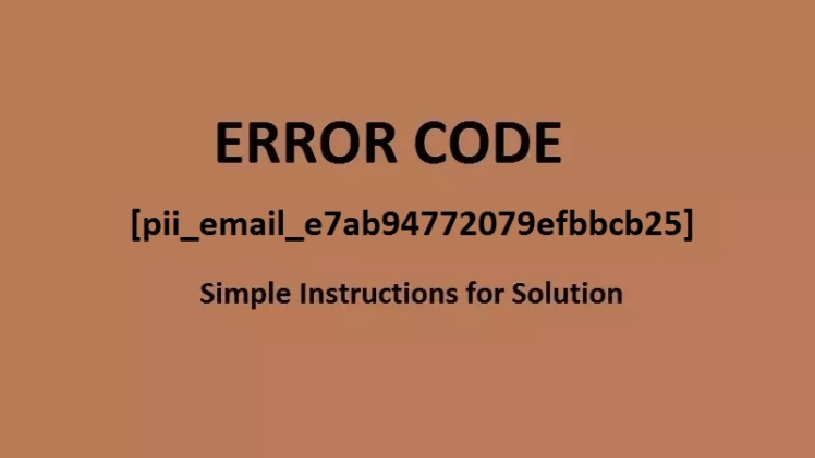How to Solved [pii_email_844c7c48c40fcebbdbbb] Error Code in Mail 2021?